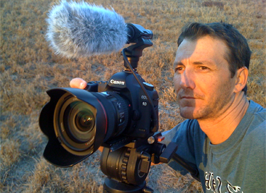 Videographer Jeff Gammons