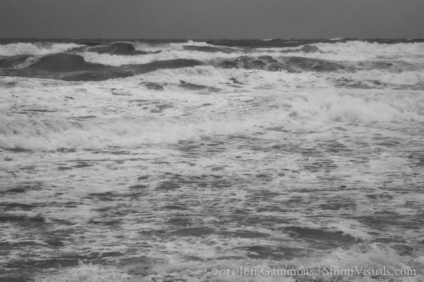 Gale winds and large waves offshore Florida