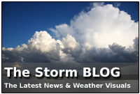 Live weather blog