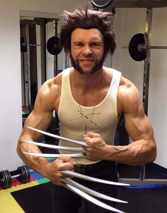 sc 1 st  Get Fit Over 40 & X-Men Wolverine Halloween Costume 2013 - Posts - Get Fit Over 40
