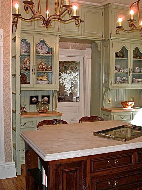 sue murphy designs - life as a house - victorian kitchen