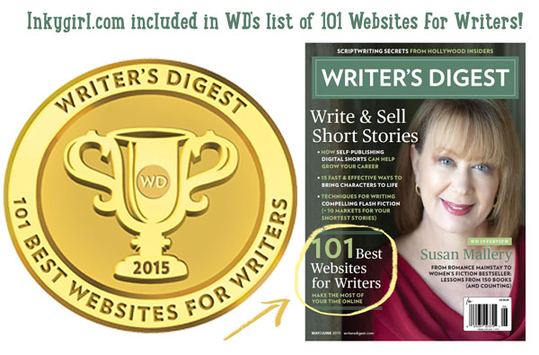 Named One of Writer's Digest's 101 Best Websites for Writers!