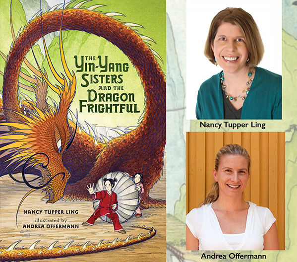 Advice for young writers three questions for nancy tupper ling and their picture book the yin yang sisters and the dragon frightful comes out on sept solutioingenieria Images