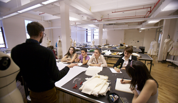 A Classroom In The Department Of Fashion Designu0027s New Space In The Juliana  Curran Terian Design Center