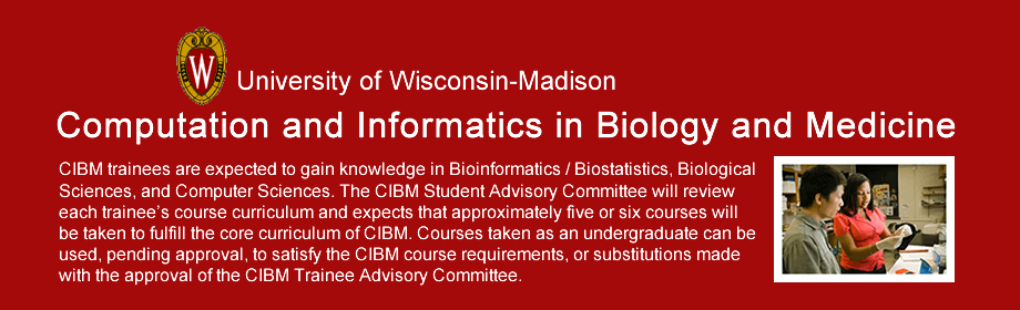 Computation and Informatics in Biology and Medicine