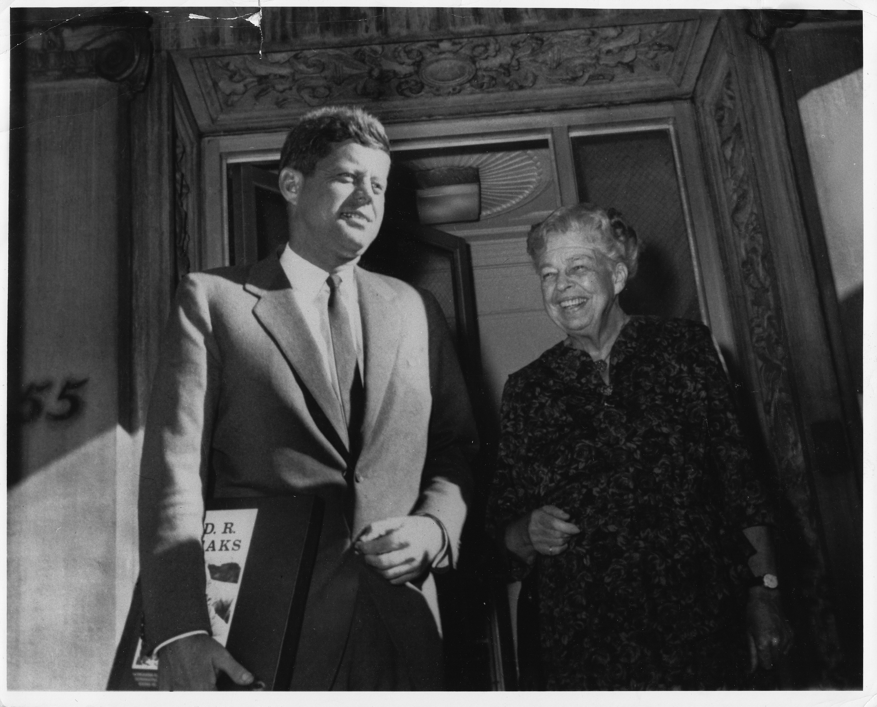 paul de angelis books book blog candidate john f kennedy making an appearance eleanor roosevelt in new york during his 1960 campaign for president united states information agency