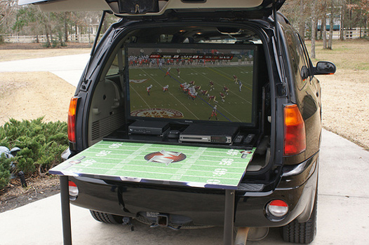 Party Box at a Tailgate