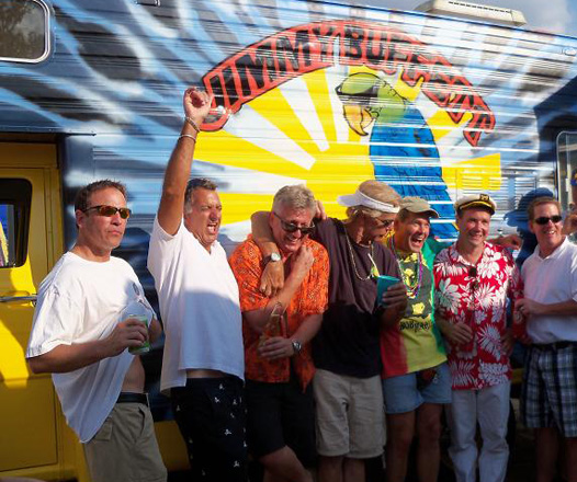 Jimmy Buffett Tailgate RV