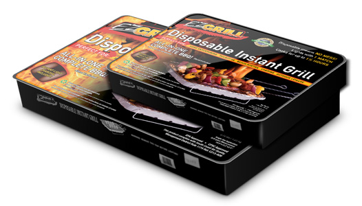 Portable, Disposable EZ Grill
