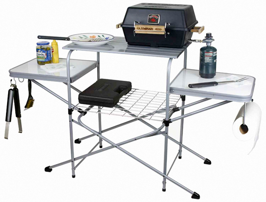 Deluxe Grill Table Serves Up Some Real Tailgating Real. Small Bathroom Cabinet With Drawers. Coffee Table Decorations. Best Buy Desk Top. Old School Wooden Desk. Plasma Cnc Table. Dewalt Dw744 Table Saw. Concerto 6 Drawer Dresser. Front Desk Receptionist Jobs
