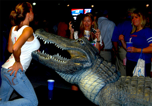 Hot Gator Girl