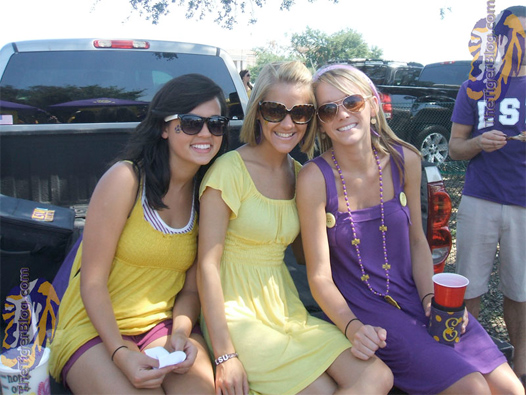 LSU Tailgate Girls