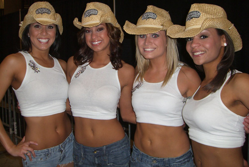 San Antonio Spurs Cheerleaders