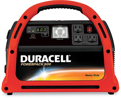 Duracell Powerpack Tailgate Generator