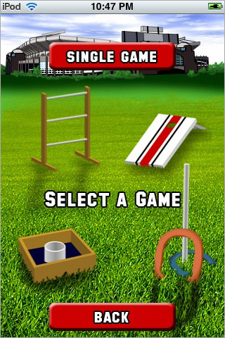 Tailgate Games on iPhone