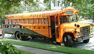 The Bengal Bus Tears Through Cincinnati Tailgate Lot