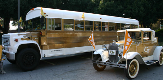 The GT Tailgate Bus