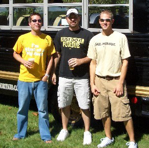 Purdue Tailgating Short Bus
