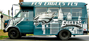Eagles Tailgate Vehicle
