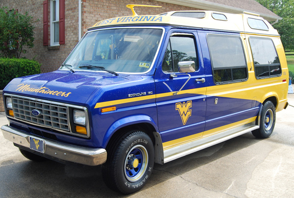 West Virginia Tailgate Van