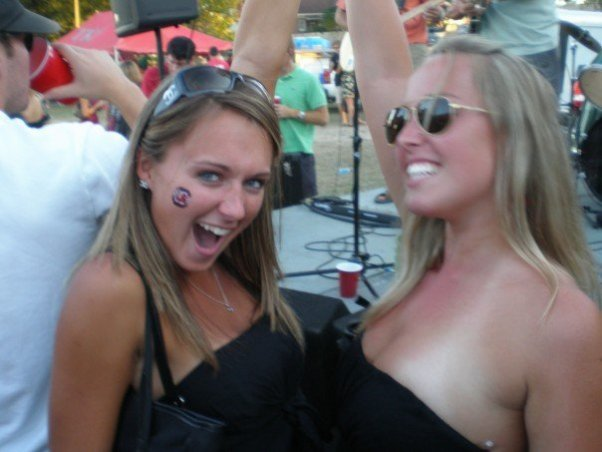 South Carolina Tailgate Girls Party Down
