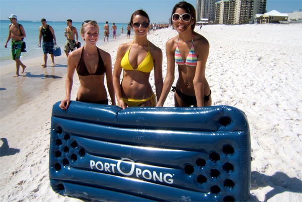 Port-O-Pong Girls
