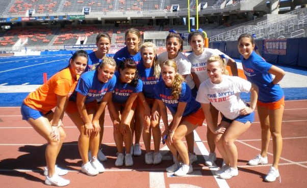 Boise State Cheerleaders