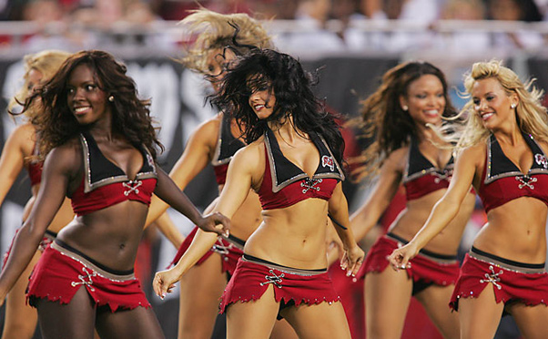 Tampa Bay Bucs Cheerleaders