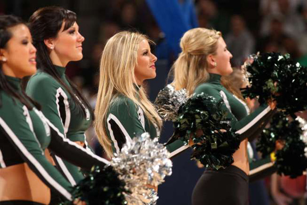 Michigan State Cheerleaders