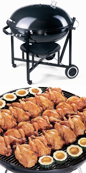Weber Ranch Kettle Grill