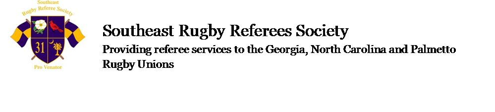 Southeast Rugby Referee Society
