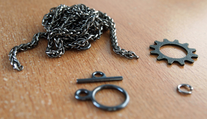 Necklace parts and materials