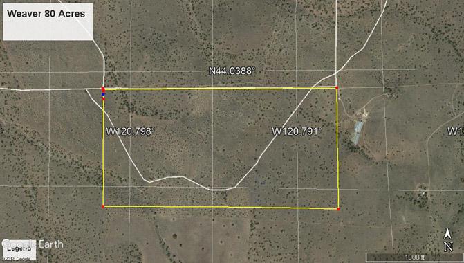 Weaver 80 Acres Google map overhead