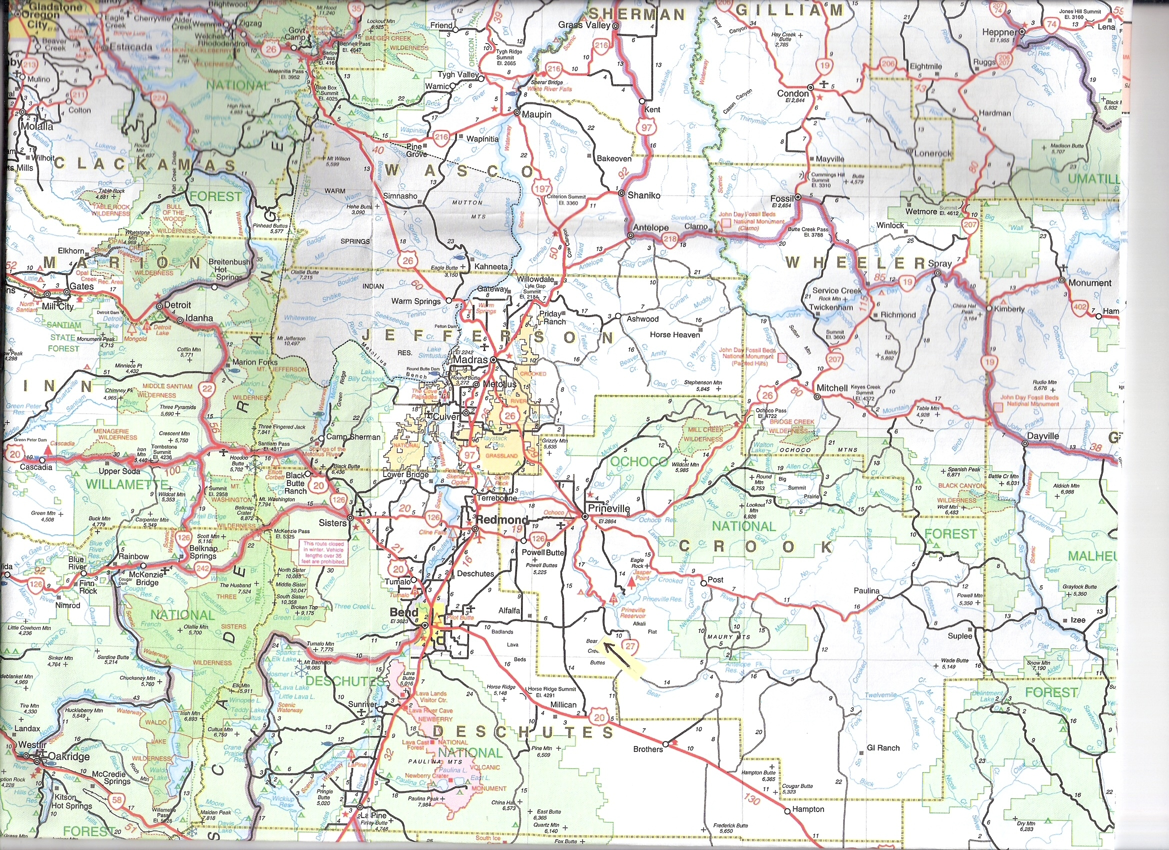 MAPS  Ranch Land For Sale In Oregon