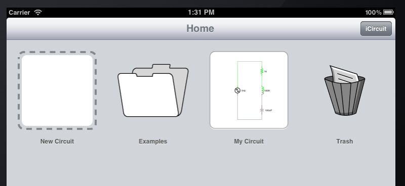 User Manual - iCircuit - The Realtime Circuit Simulator and Editor