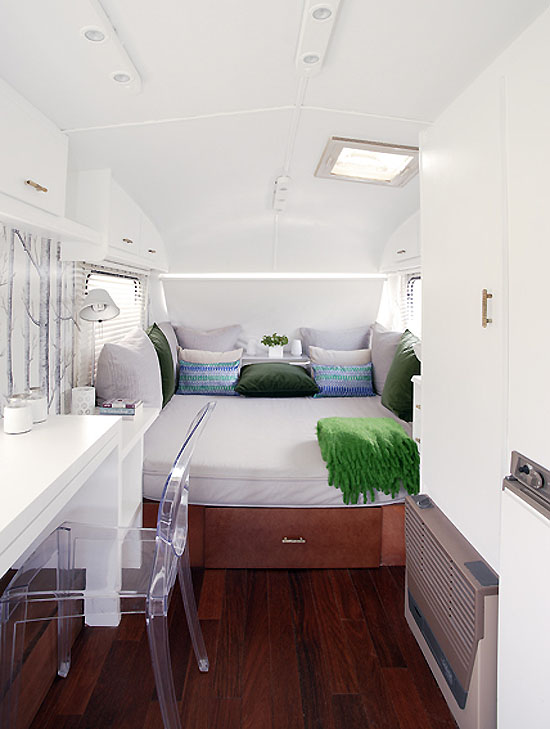 Them into very personal and unique spaces for a very stylish traveler