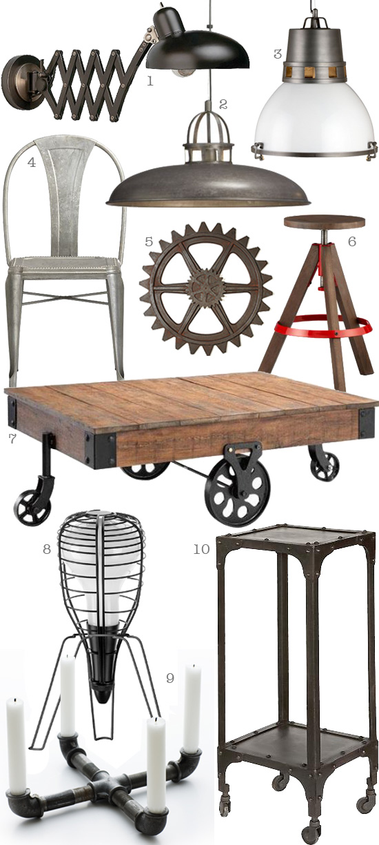 Thedesignerpad thedesignerpad going industrial - Style industriel chic ...