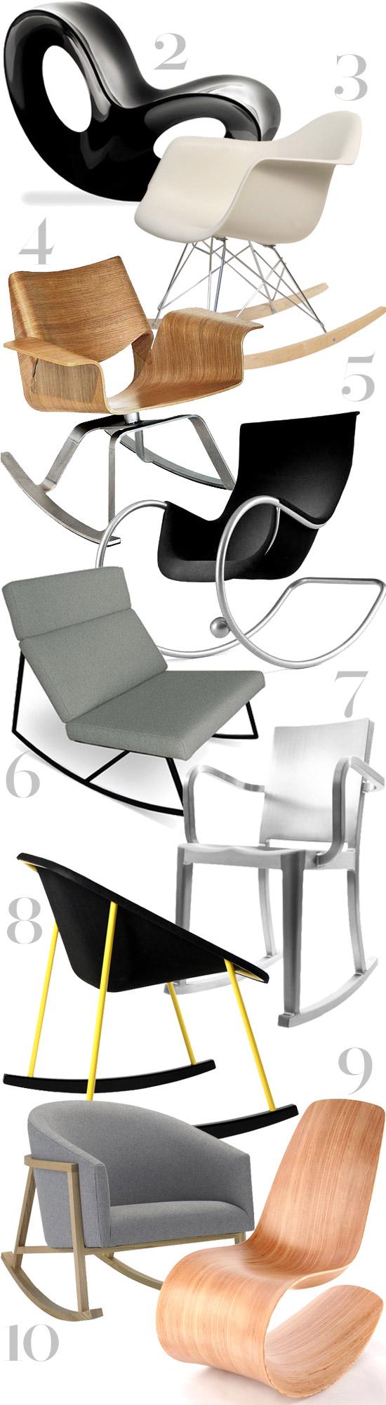 Amazing Thedesignerpad Thedesignerpad My Top 10 Rockers Inzonedesignstudio Interior Chair Design Inzonedesignstudiocom