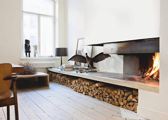 With Her Love For Everything White Black And Natural Materials Interior Designer Tanja Janicke Has Created This Super Functional Modern Home In The
