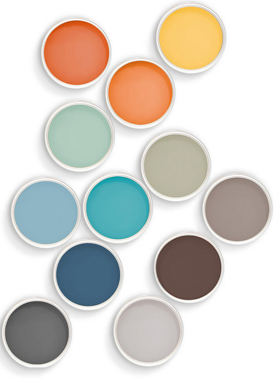 Soothing Colors Delectable Thedesignerpad  Thedesignerpad  Responsible Paints Decorating Design