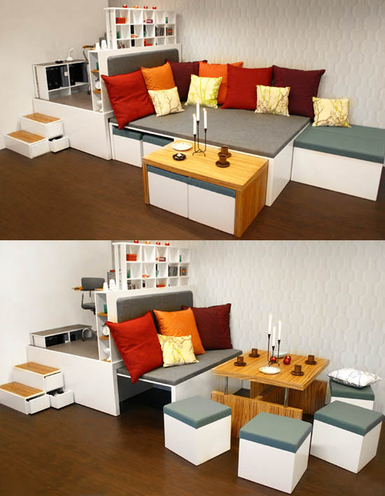 Emejing Studio Apartment Storage Ideas Images - Decorating Ideas ...
