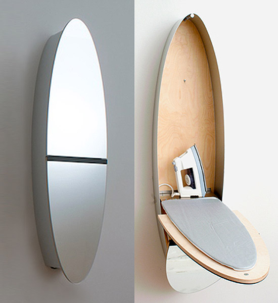 Thedesignerpad thedesignerpad tight space big solutions - Ironing boards for small spaces pict ...