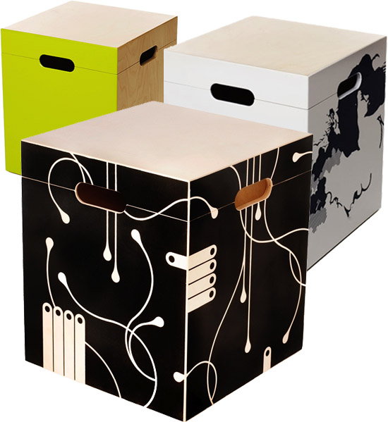 Exceptional The Cool M3 Storage Box And Seat, By Mikko Kärkkäinen, Is Created From 1/5  Birch Plywood. Itu0027s Available In A Variety Of Very Funky Colors And  Patterns To ...