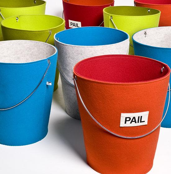 Thedesignerpad Cool Finds Felt Storage Pails
