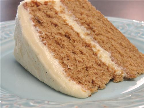 Maple Frosting Spice Cake