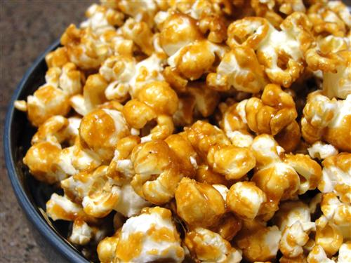 Image result for toffee popcorn