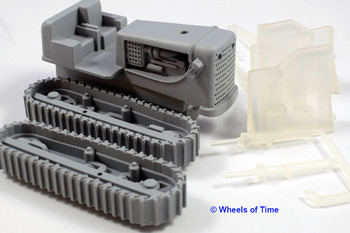 HD-21 Dozer (HO scale) - Wheels of time :: Historically