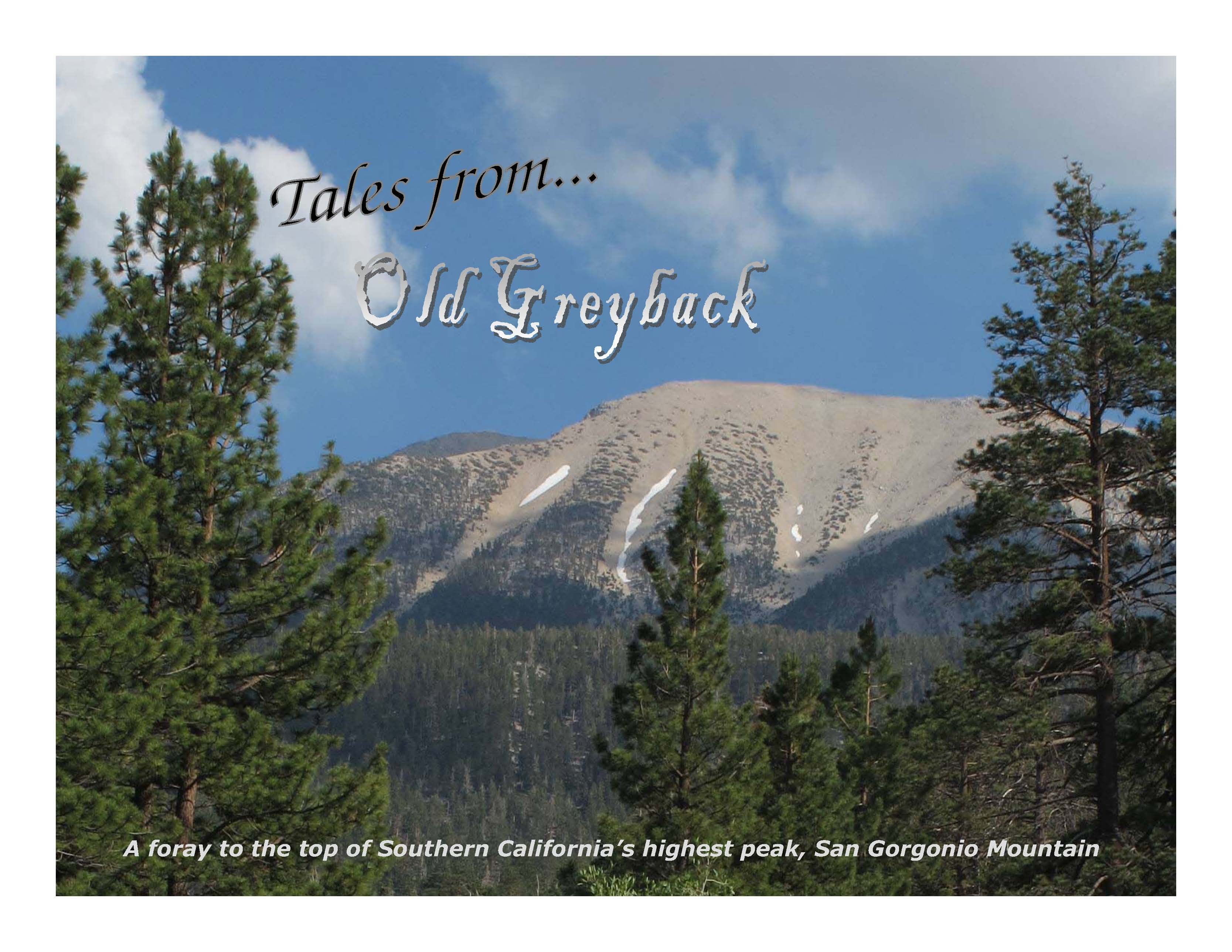 Tales from Old Greyback part of the Wayne Roderick Lecture Series