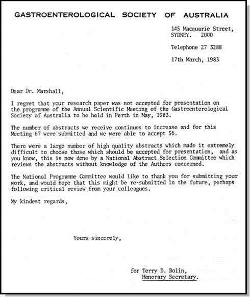 Southwest journal of pulmonary critical care general medicine rejection letter of marshalls abstract from the gastroenterogical society of australia meeting held in perth 2003 spiritdancerdesigns Image collections