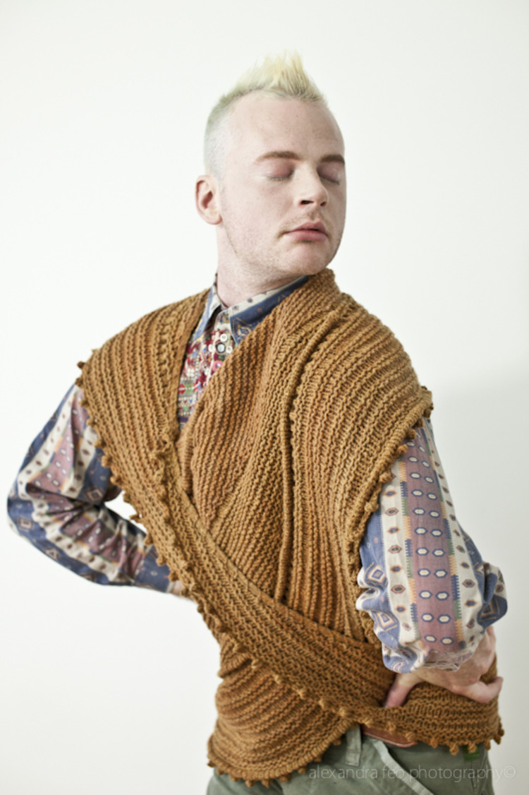 Madame Portrait - Blog - Knitting Product Photography With WestKnits Design.